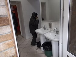 Leto Restaurant / cafeteria in Kyzyl. EXCELLENT restroom facilities.