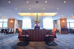 Crowne Club Lounge reception