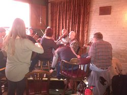 Sunday Afternoon Irish Jam with locals playing reels