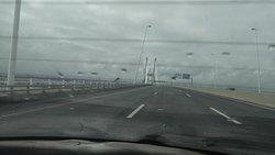 Ponte vasco da Gama em Lisboa Portugal.