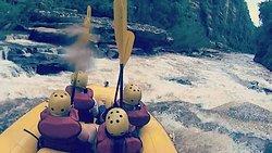 Rafting no Rio Jaguariaíva
