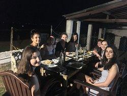 Best group dinner 🥘