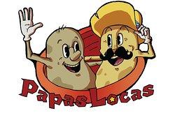 The official Papas Locas logo. Designed by Andrei Misan (you have our eternal gratitude)