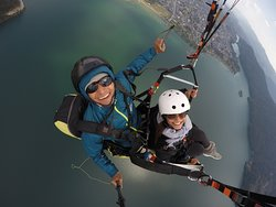 Wonderful paragliding experience!