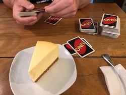 Here to settle the cheesecake debate