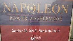 Enjoyed the Napoleon Bonaparte exhibit