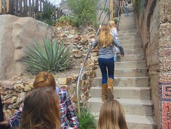 Bisbee is famous for many reasons, among them thousands of stairs that take you to otherwise unreachable dwellings and vistas - and yes even one that is a stairway to Heave...