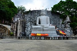 World's tallest granite Samadhi Buddha statue in Kurunegala
