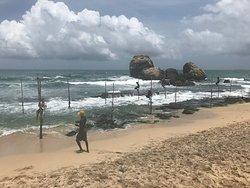 Average room, food, equipment. Beach too dangerous to swim