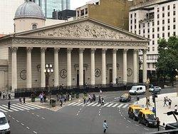 Bela imagem da igreja matriz de Buenos Aires