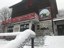 Restaurant Učka is located in Učka nature park (Croatia, EU) - at 922 elevation - so during the winter we get plenty of snow, but we are also very near the Adriatic sea - 1/2 hour drive.