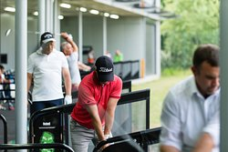 Driving range users at SIlvermere