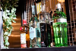 A large selection of gins!