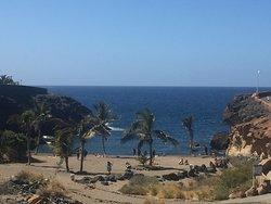 Adjacent beach.