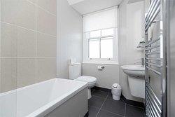 Modern bathroom facilities,