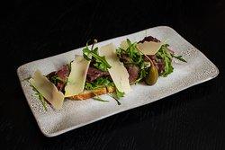 Beef Carpaccio at Bar 44