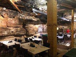 Prehistoric Cave Restaurant! So cool!