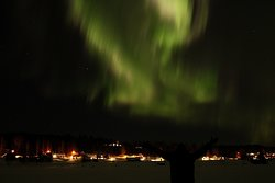 March is a good month to see the northern lights.