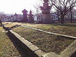 崇福寺 墓所