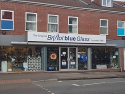Bristol Blue Glass