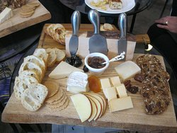 Our other cheese tray. Cheeses featured came from Quebec, Ontario, Ireland, France, to name just some of the places.