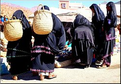 Traditional costume for Tafraout women