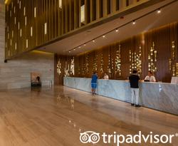 Front Desk at the Grand Palladium Costa Mujeres Resort & Spa