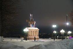 Зима. Ночь.