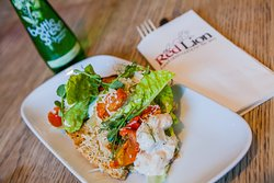 Chicken Caesar Salad - Baby Gem, Toasted Homemade Bread, Anchovies, Parmesan & Tomatoes
