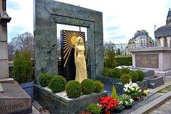 Tombe de Dalida