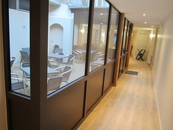 Instant Goû'Thé 4 Patio à l'Arrière Salon de Thé et Café à La Châtre.