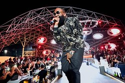Rick Ross performing on 15 March 2019