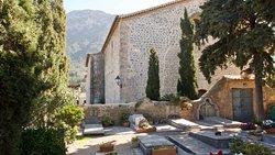 Deia - village and church.
