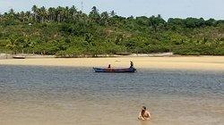 RIO CARAÍVA MARÉ BAIXA