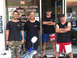 James Inst John Student Peter Inst Neil Inst the best team in Thailand.