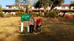 front of Corregidor Inn