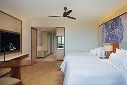 Premier Seaview Twin. Our twin rooms comes with two queen-sized beds