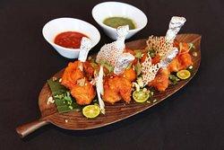 烤阿富汗鸡腿|Afghani Chicken Leg Kebab