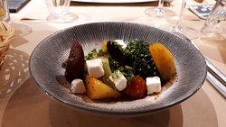 Légumes rôtis et féta