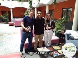 Adriana Miguel e Roberto Sanches - Hotel Xima Cusco