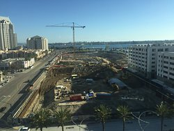 construction site across from hotel. This was a view from room.
