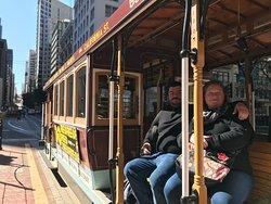 """Nob Hill & Cable Car"" avec San Francisco by Gilles. San Francisco en français à pied avec un guide francophone"