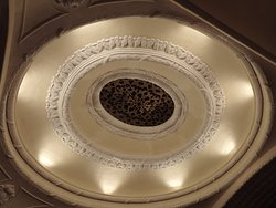 The amazing domed ceiling