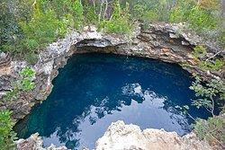 Sapphire Blue Hole