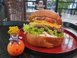 Goku's Fusion Burger