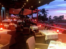 The best food and view in Broome!