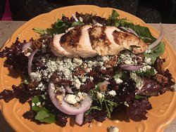 candied pecan chicken salad for $13.50