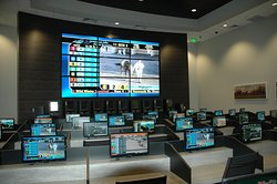 Off Track Betting at Hollywood Park