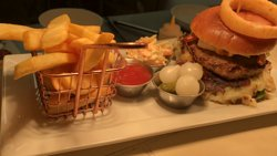 Lush burger , standard, specials on every week