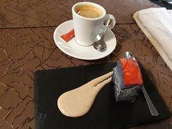 café et gâteau